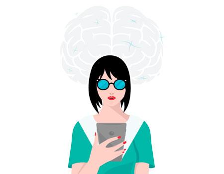 Brain Science Illustration