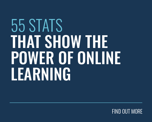 55 Statistics that show the power of online learning