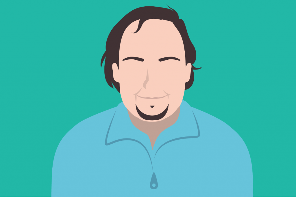 Illustration of Craig Weiss