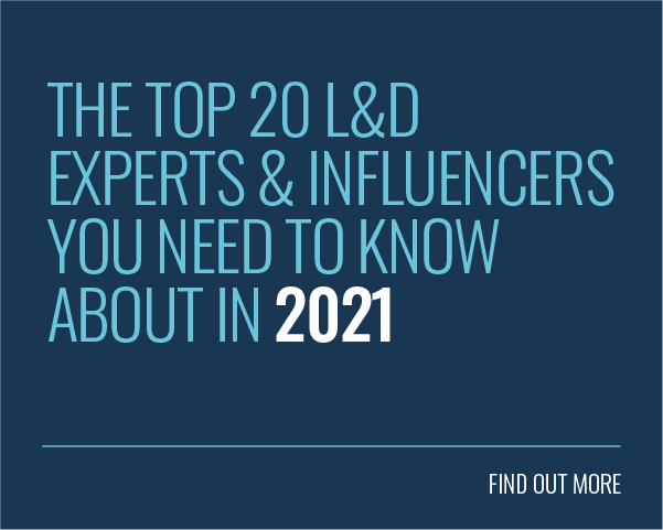 Blog Title: The Top 20 L&D Experts & Influencers You Need to Know About in 2021