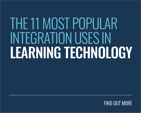 THE 11 MOST POPULAR INTEGRATION USES IN LEARNING TECHNOLOGY