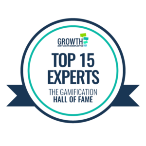 Top gamification experts badge