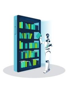 AI based learning platform: AI aided search
