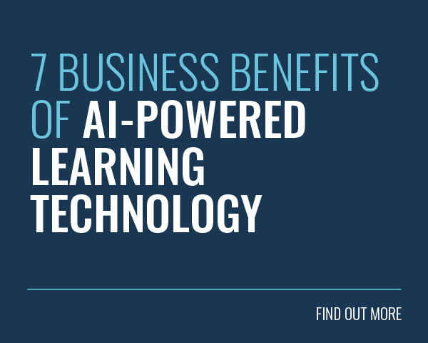 7 Business Benefits of AI-Powered Learning Technology