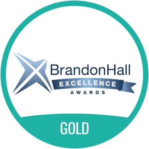 Brandon Hall Excellence Award Gold
