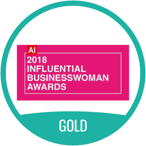 2018 Influential Businesswoman Award Gold