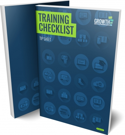 Training Checklist Tip Sheet