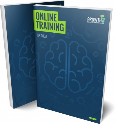 Online Training Tip Sheet Cover